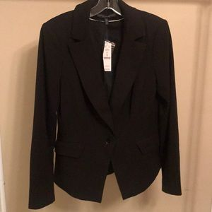 NWT White House Black Market Black Blazer - Sz 10